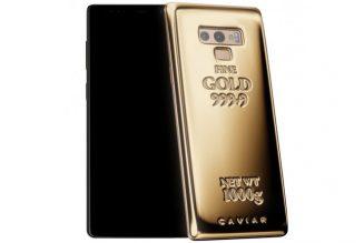 """""""Hội Richkids"""" cũng phải thảng thốt với giá của phiên bản Galaxy Note 9 Fine Gold Edition"""