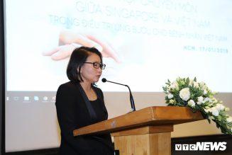 Việt Nam và Singapore tăng cường phối hợp chuyên môn trong điều trị ung thư