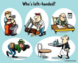 Ai là người thuận tay trái