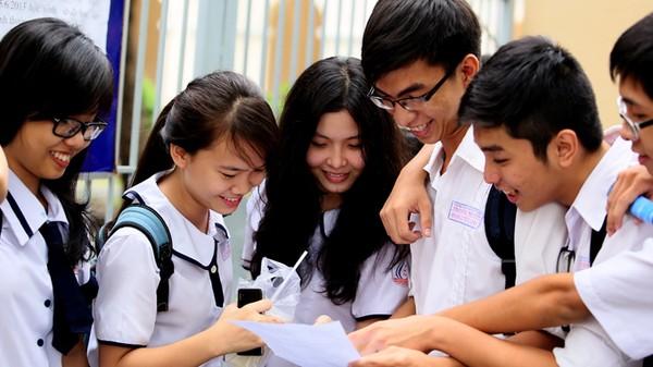 Học sinh sau kỳ thi