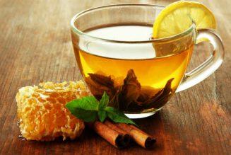 trà chanh mật ong