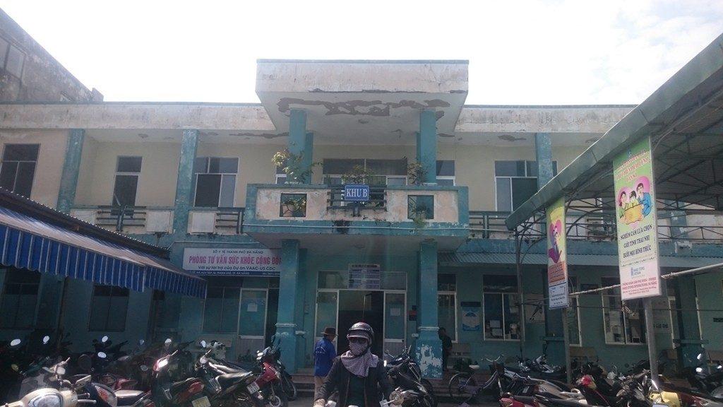 Trung tâm Y tế quận Thanh Khê.