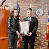 Người Việt được tặng bằng khen trên đất Mỹ